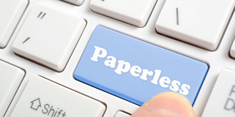 تحويل مكتب المحامي الى مكتب بدون اوراق paperless